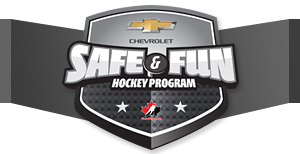 Chevrolet Safe and Fun Hockey Program-Free Bauer Youth Hockey Helmet from Chevrolet