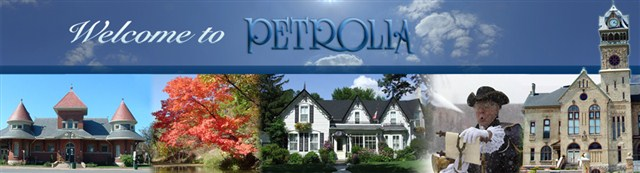 Logo for Town of Petrolia